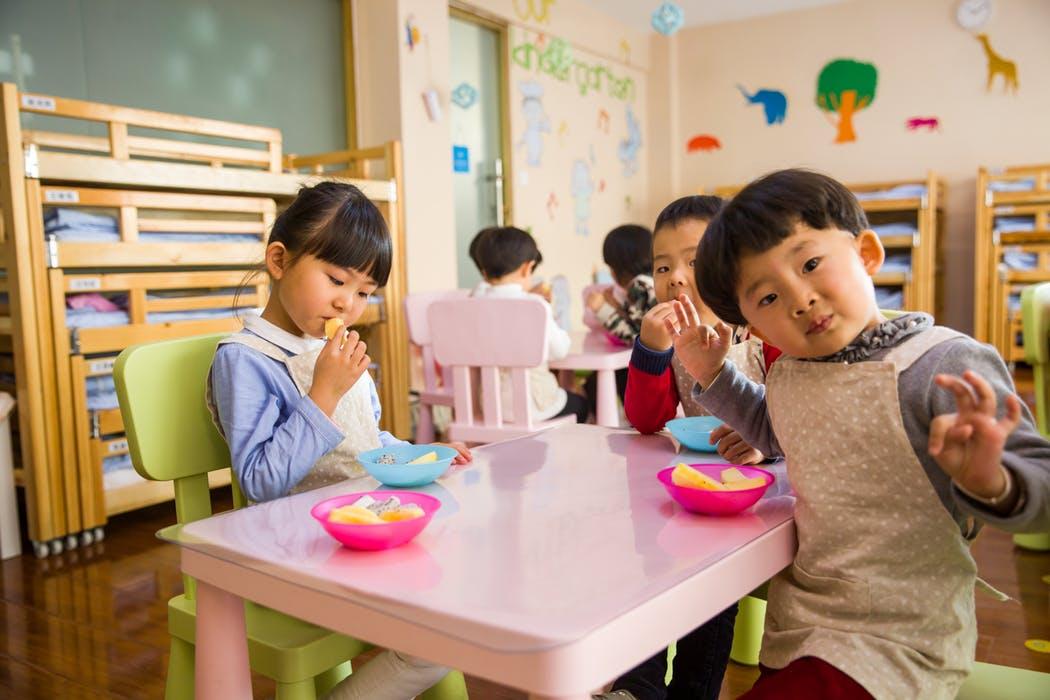 Kids inside a Punchbowl Childcare Centre